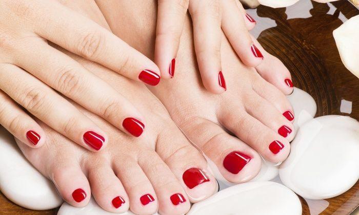 Manicure i pedicure hybrydowy Wilanów